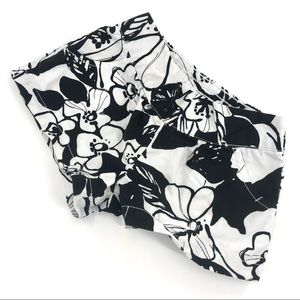 Gymboree BOGO Hawaiian Floral Black & White Shorts